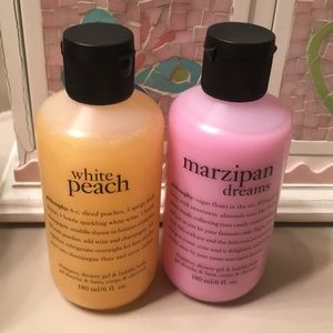 Two piece set philosophy shower gel's-6 fluid oz.